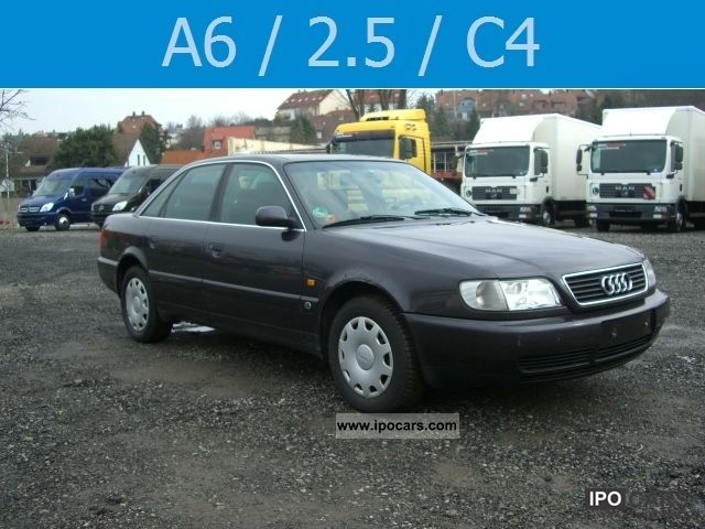 1995 Audi  A6 C4 2.6 Climate ZV el.Fh Limousine Used vehicle photo
