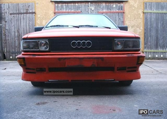 1983 Audi  Coupe Votex Sports car/Coupe Used vehicle photo