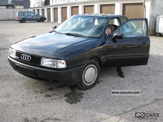 1990 audi 80 quattro car photo and specs. Black Bedroom Furniture Sets. Home Design Ideas