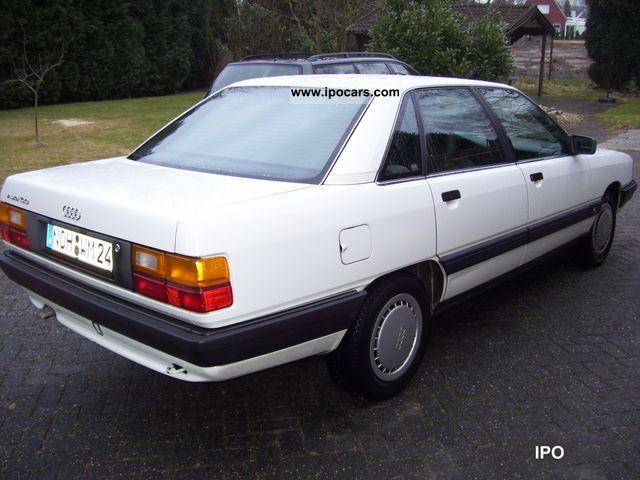 1989 Audi 100 2 3 E Car Photo And Specs