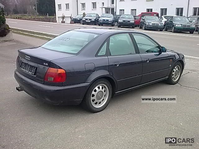 1995 audi a4 2 8 with automatic climate control car. Black Bedroom Furniture Sets. Home Design Ideas