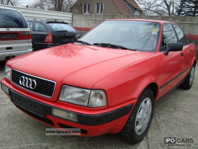 1993 audi 80 td sunroof power steering 2 hand zv car photo and specs. Black Bedroom Furniture Sets. Home Design Ideas