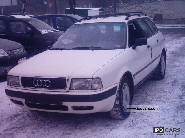 1993 Audi  80 Avant TDI + from first Hand Estate Car Used vehicle photo
