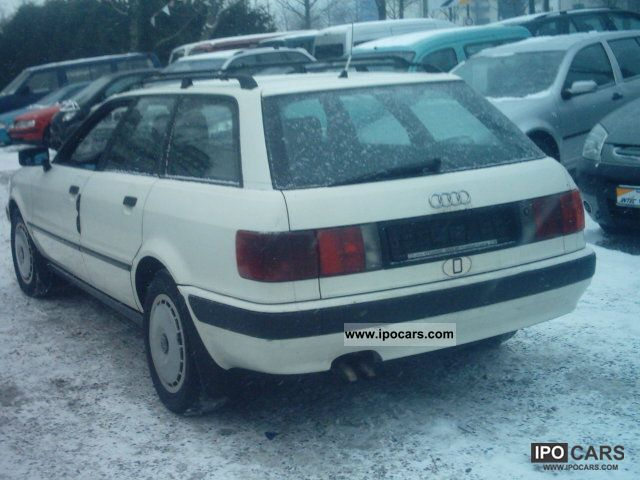 1993 audi 80 avant tdi from first hand car photo and specs. Black Bedroom Furniture Sets. Home Design Ideas