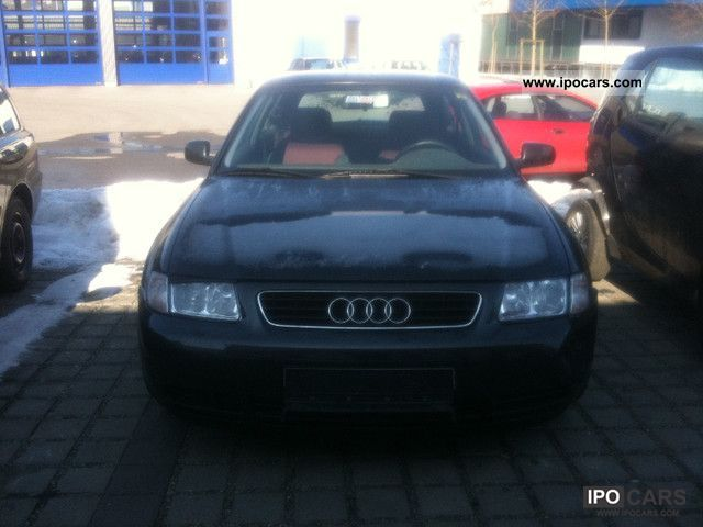 1998 Audi  A3 1.8 Attraction Emissions standard automatic climate control * D3 * Limousine Used vehicle photo