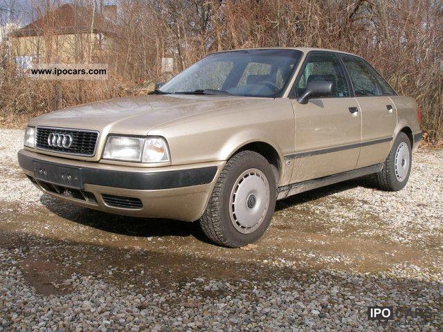 1992 Audi  80 second hand TÜV 11.2012 Limousine Used vehicle photo
