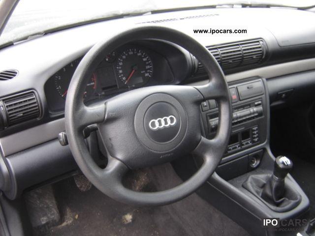 1998 Audi A4 Avant 18 Car Photo And Specs