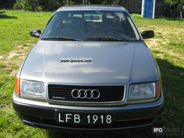 Audi  100 1991 Liquefied Petroleum Gas Cars (LPG, GPL, propane) photo