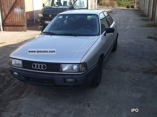 1988 Audi  80 1.9 E Limousine Used vehicle photo