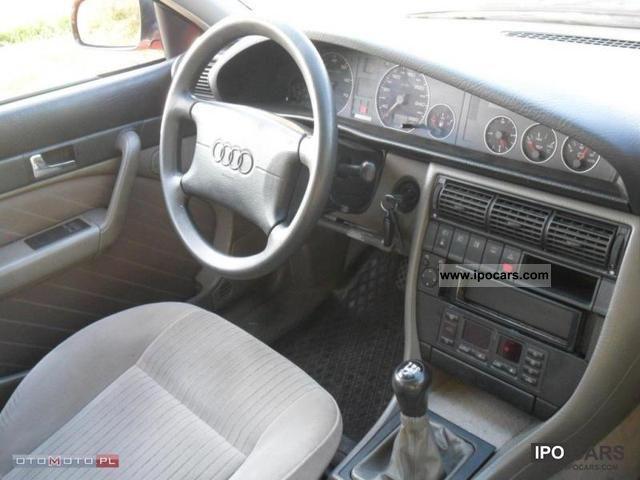 1996 Audi A6 26 V6 Air Gaz Super Cena Car Photo And Specs