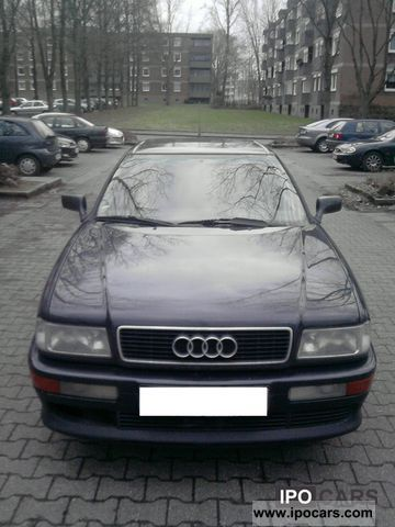1992 Audi  2.6 E Coupe Sports car/Coupe Used vehicle photo
