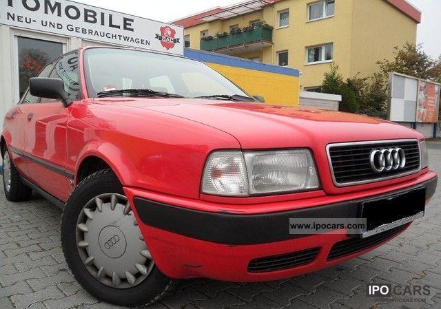 1992 Audi  80 1.9 TDI Limousine Used vehicle photo