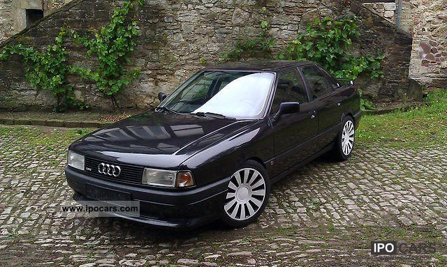 1990 Audi  80 16 V. Limousine Used vehicle photo