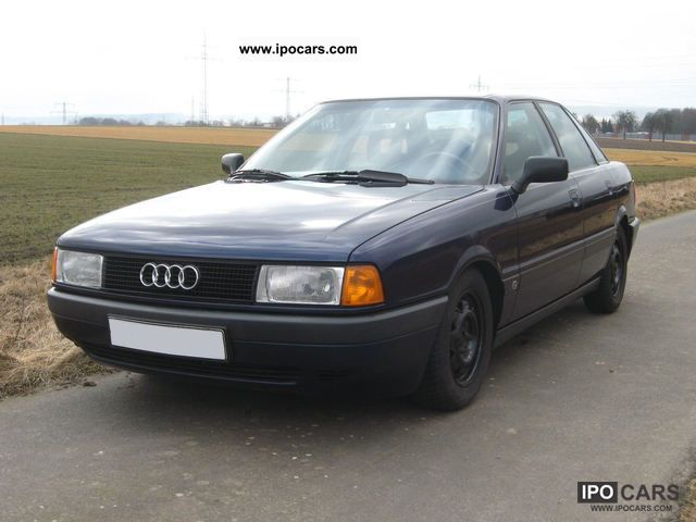 1988 audi 80 b3 type 89 1 9 e car photo and specs. Black Bedroom Furniture Sets. Home Design Ideas