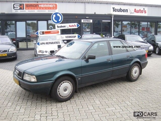 1992 Audi  80 1.9 TD! Nieuw APK / Stuurbekracht. / Trekhaak! Limousine Used vehicle photo