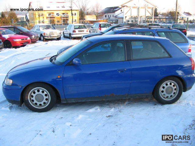1996 Audi  A3 1.6, Klimaaut.eFH, 2x airbag, aluminum Limousine Used vehicle photo