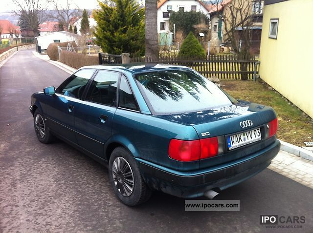 1993 audi 80 b4 2.0 (low mileage, sunroof) - car photo and specs