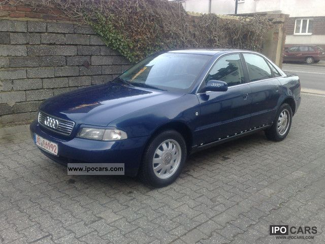 1998 Audi  A4 1.6. Klimatronic.Alufelgen parking aid .. Limousine Used vehicle photo