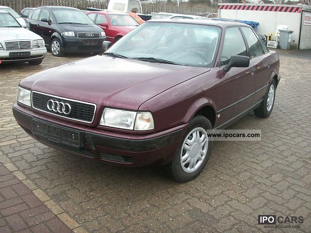1995 audi 80 tdi automatic car photo and specs. Black Bedroom Furniture Sets. Home Design Ideas