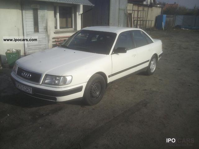 1997 Audi  100 biała then LPG 2.0 Limousine Used vehicle photo