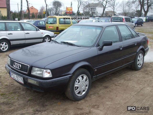 1994 audi 80 zarejestrowana 1 9 tdi car photo and specs. Black Bedroom Furniture Sets. Home Design Ideas