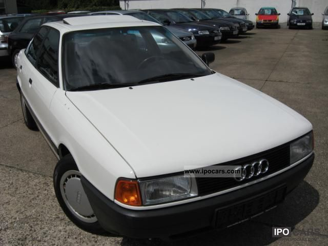 1987 Audi  80 1.8 with power steering, many new parts Limousine Used vehicle photo