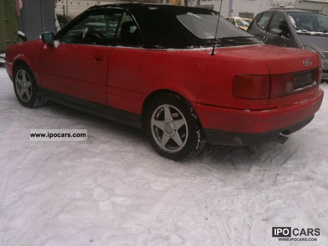 1995 Audi  Convertible 2.0 Cabrio / roadster Used vehicle photo
