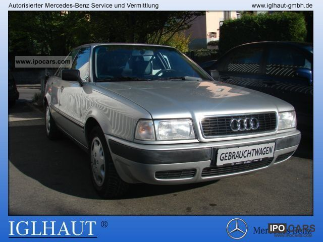 1992 Audi  80 ZV / power / metallic paint / SHD EFH. Limousine Used vehicle photo