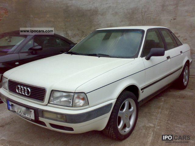 1993 Audi  80 B4 4-door, ABS, power steering, towbar Limousine Used vehicle photo