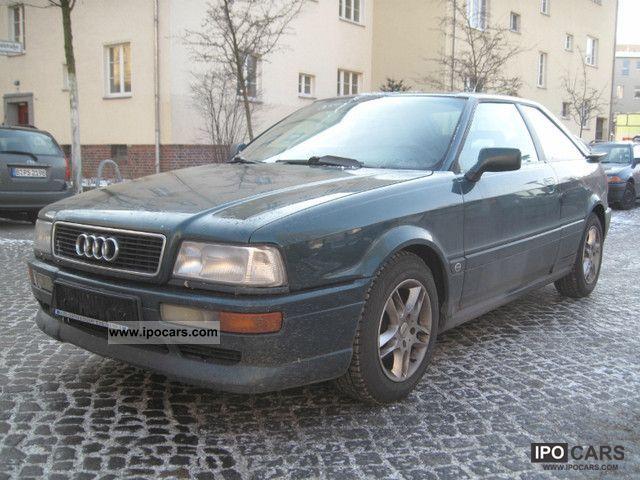 1993 Audi  Coupe 2.6 E Klimatronic THE CLASSICS! Sports car/Coupe Used vehicle photo