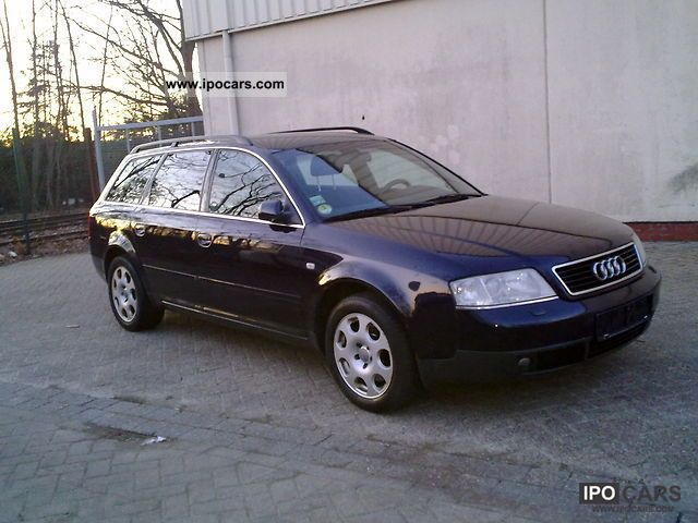 2000 audi a6 avant 2 5 tdi car photo and specs. Black Bedroom Furniture Sets. Home Design Ideas