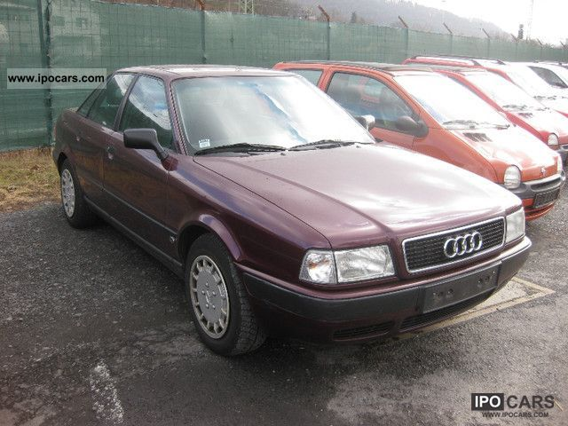 1995 audi 80 1 9 tdi comfort 1 hand car photo and specs. Black Bedroom Furniture Sets. Home Design Ideas