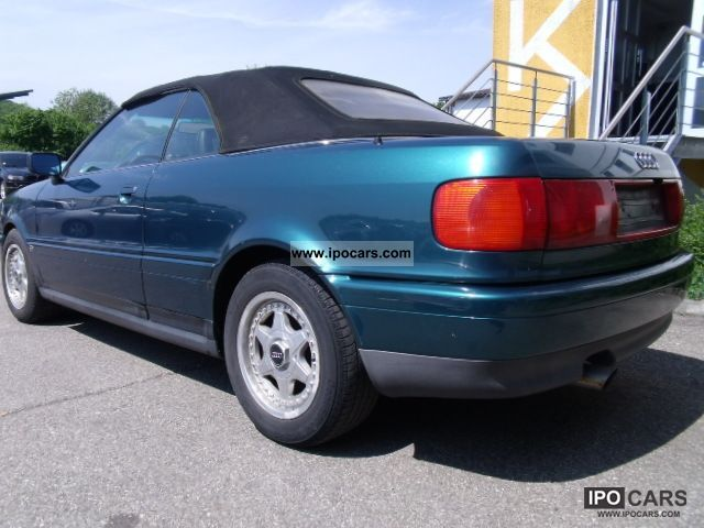 1992 Audi Cabriolet 2.3 E * Auto * Leather * Sitzheiz - Car Photo and ...