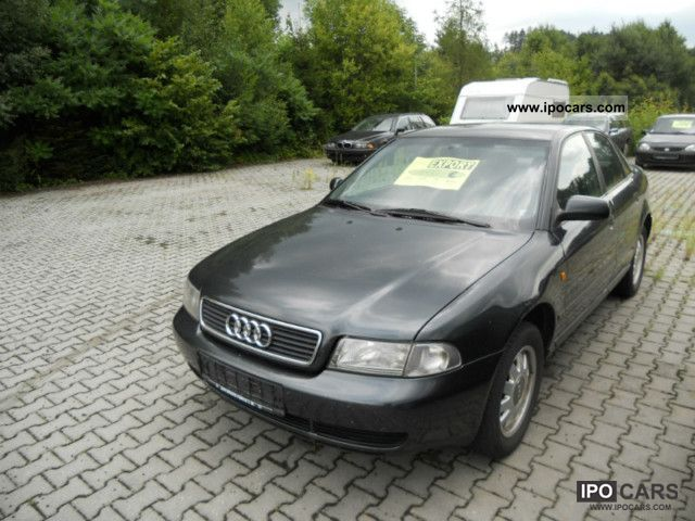 1997 Audi  A4 1.6 ** fixed towbar, climate control, alloy wheels ** Limousine Used vehicle 			(business photo