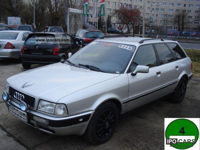 1993 audi 80 b4 avant 2.0e + hitch + good condition - car photo and