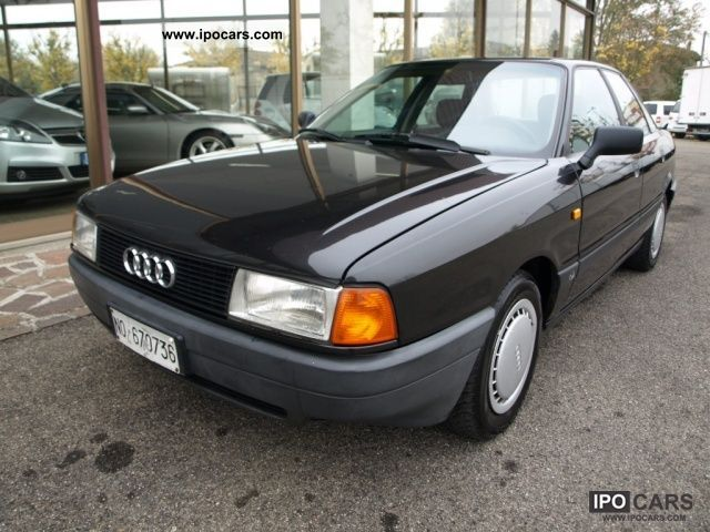 Audi  80 1.8 1989 Liquefied Petroleum Gas Cars (LPG, GPL, propane) photo
