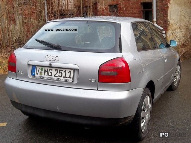 1999 audi a3 1 6 ambition car photo and specs. Black Bedroom Furniture Sets. Home Design Ideas