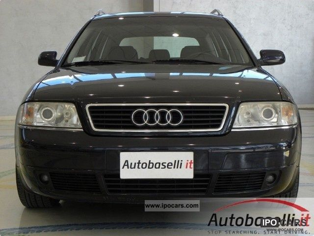 1999 audi a6 2 5 tdi v6 tiptronic automatic avant cambio car photo and specs. Black Bedroom Furniture Sets. Home Design Ideas
