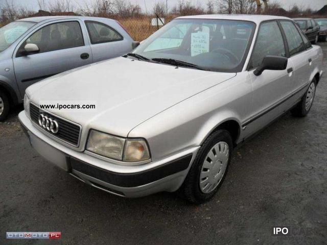 1995 audi 80 1 9 tdi sreberko super cena car photo and specs. Black Bedroom Furniture Sets. Home Design Ideas