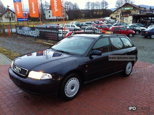 1996 Audi  TANIO A4, Audi Idealne, SUPER STAN Estate Car Used vehicle photo