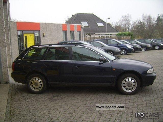 1998 Audi A4 Avant 25 V6 Tdi 150pk Ambition Ecc Cruise C Car