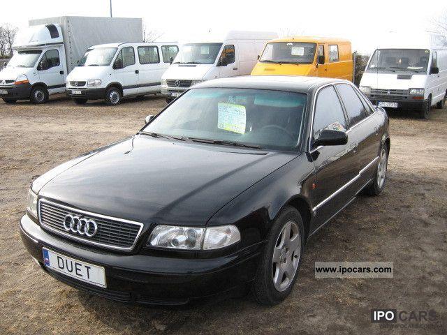 1995 Audi  A8 4.2 PB 299KM Limousine Used vehicle photo