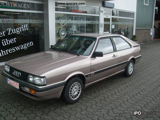 1987 audi 80 coupe gt car photo and specs. Black Bedroom Furniture Sets. Home Design Ideas
