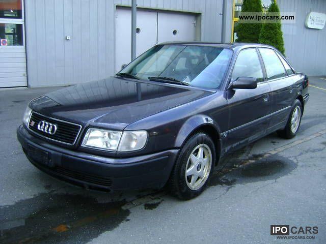 1992 Audi S4 2 2 T Quattro Car Photo And Specs