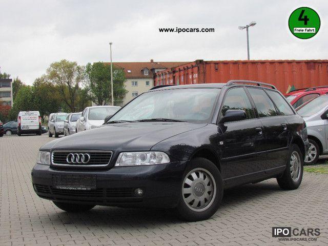 1999 Audi A4 Avant 1 6 Klimaautomatik Car Photo And Specs