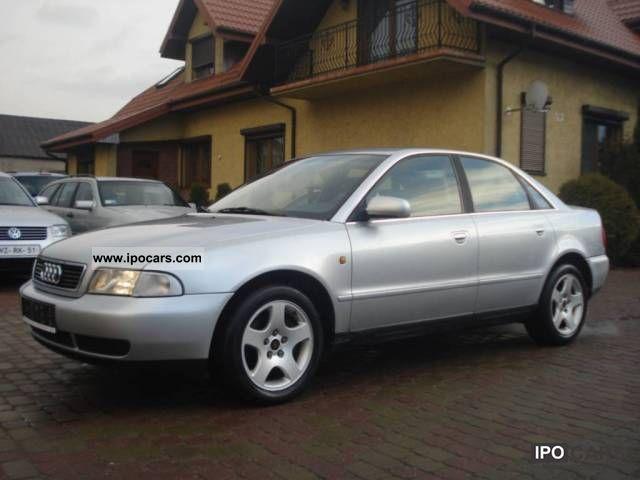 1998 Audi  A4 ZAREJESTROWANA, ALU, AIR, ASR Limousine Used vehicle photo