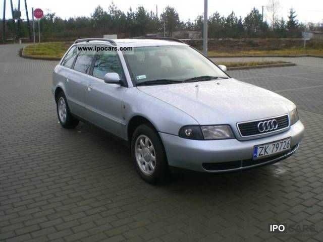 Audi  A4 * GAZ SEKWENCYJNY Skory 1997 Liquefied Petroleum Gas Cars (LPG, GPL, propane) photo