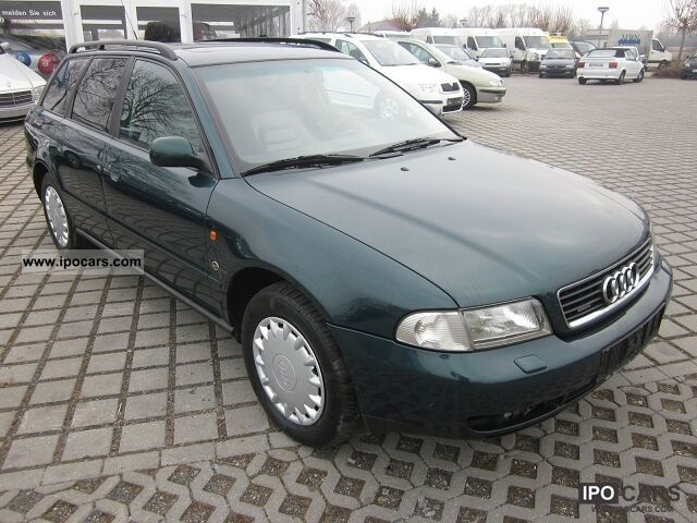 1996 audi a4 2 6 quattro leather climate control car photo and specs. Black Bedroom Furniture Sets. Home Design Ideas