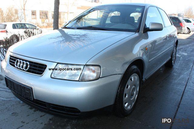 1999 Audi  A3 1.6 / Klimaaut. / Alcantara leather Limousine Used vehicle photo