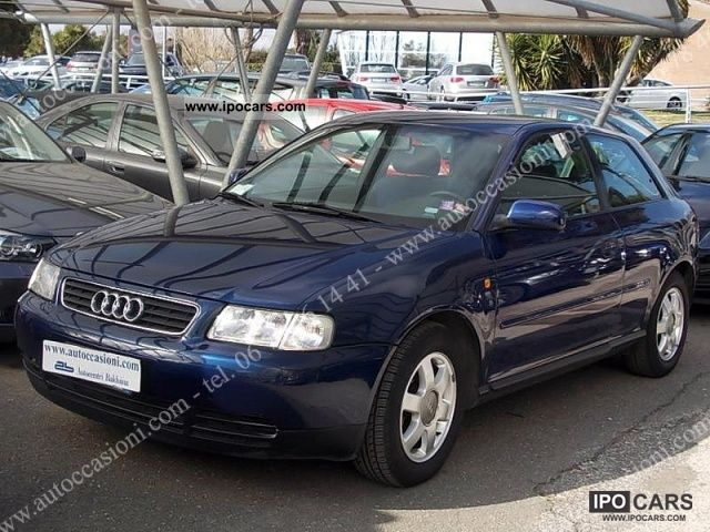 1999 audi a3 1 9 tdi 110 cv cat 3p attraction car photo and specs. Black Bedroom Furniture Sets. Home Design Ideas